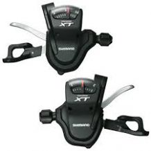 PAIR SHIMANO XT M780 3 X 10 SPEED RAPIDFIRE GEAR LEVERS